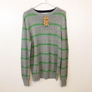 🔴 Sweater Men's Dress Shirt Medium Striped Stripe